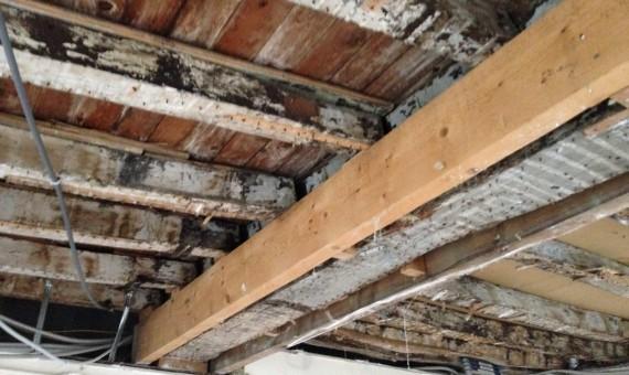 Sinistre plancher bois PACT Habitat