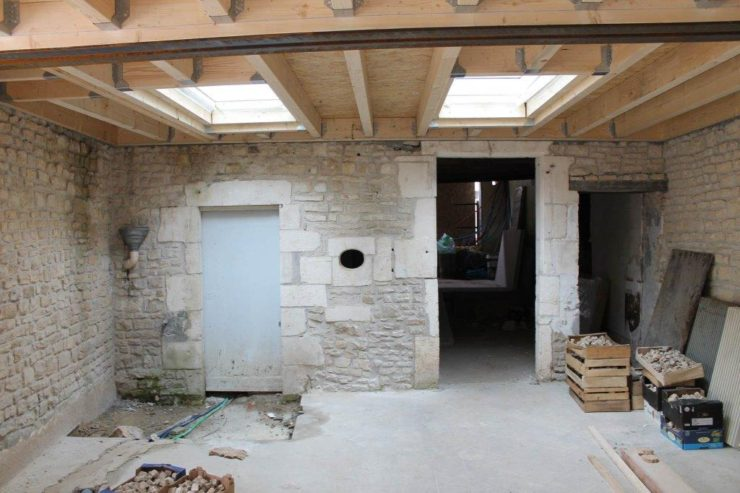 Réhabilitation Habitation Mansle